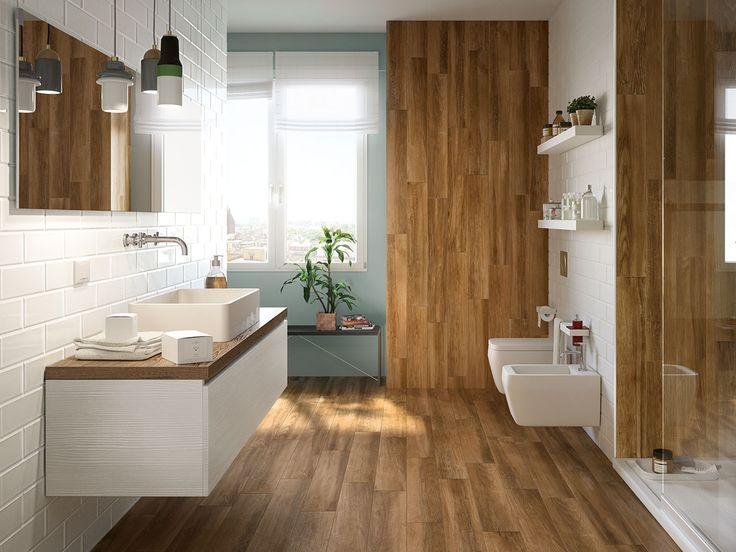 642 best gres porcellanato images on pinterest bath - Piastrelle simil legno ...