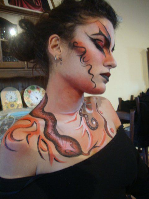 Body Painting...Principessa Dark