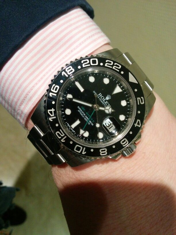 52 Best Images About Gmt Master Ii Wrist Shot On Pinterest