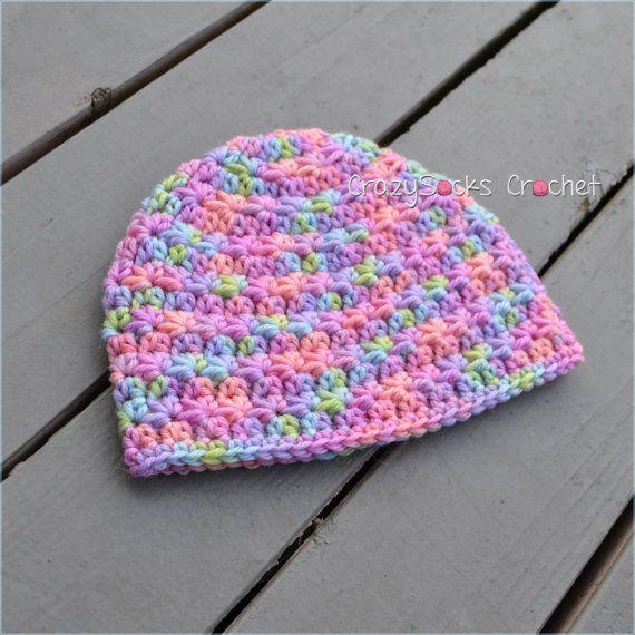 Stella Hat Crochet Pattern Star Stitch Beanie Crochet