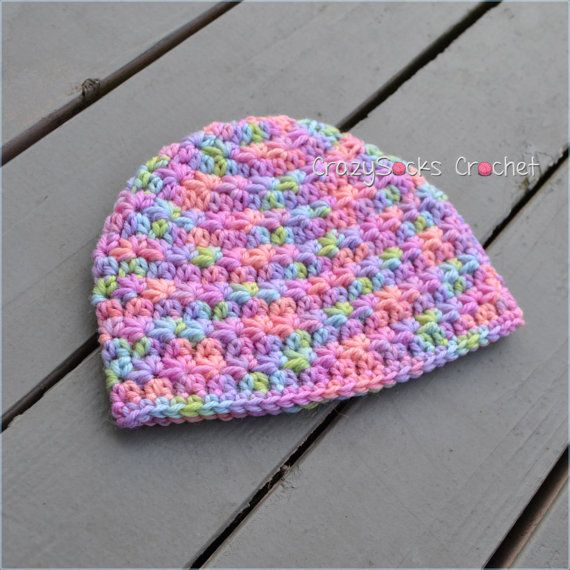 Crochet Jasmine Stitch Hat : CROCHET PATTERN Stella Hat star stitch by crazysocksdesigns $4.99
