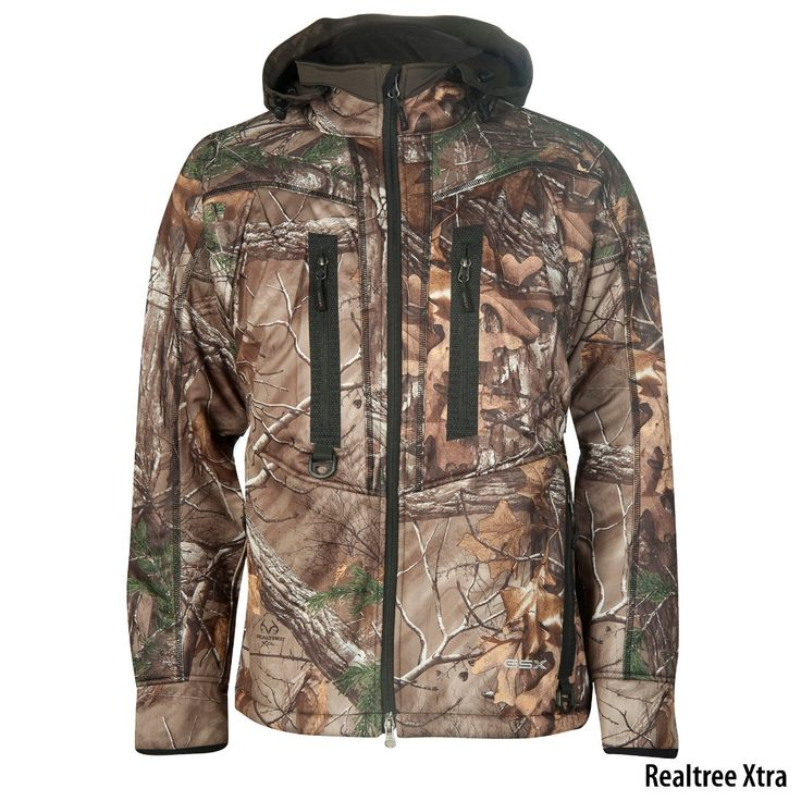 <p>The new Realtree Xtra® softshell <strong>camo jacket</strong> and pants by Gander Mountain provide warmth and movability during your cold-weather hunts.</p>