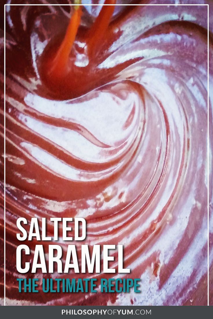 salted caramel | salted caramel sauce | salted caramel from scratch