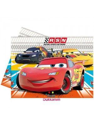 Cars RSN Masa Örtüsü (120x180) cm