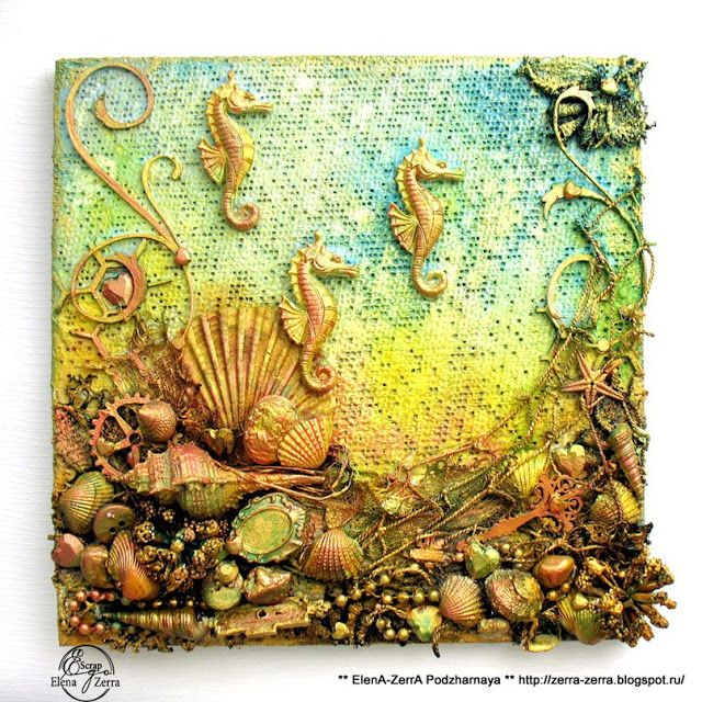 Canvas On the Seabed / Canvas