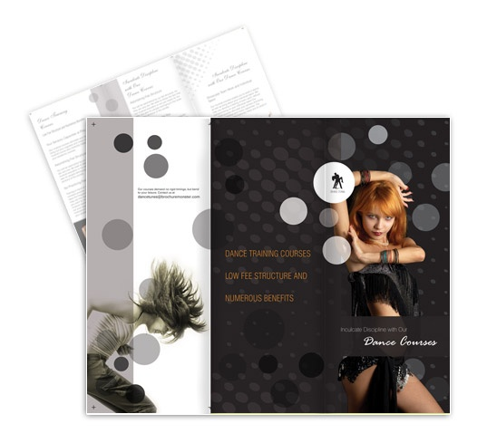 Dance and musical course brochure Templates