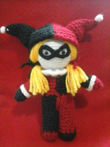 Amigurumi Harley Quinn : 19 best images about Superhero Amigurumi on Pinterest ...