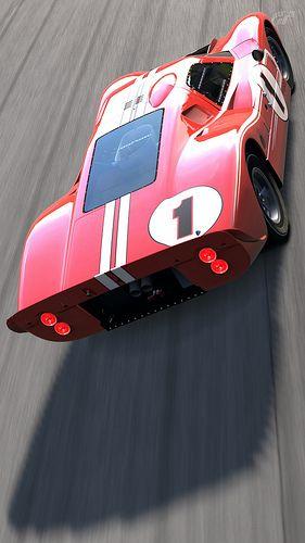 Ford Mark IV Race Car #cars #vintage