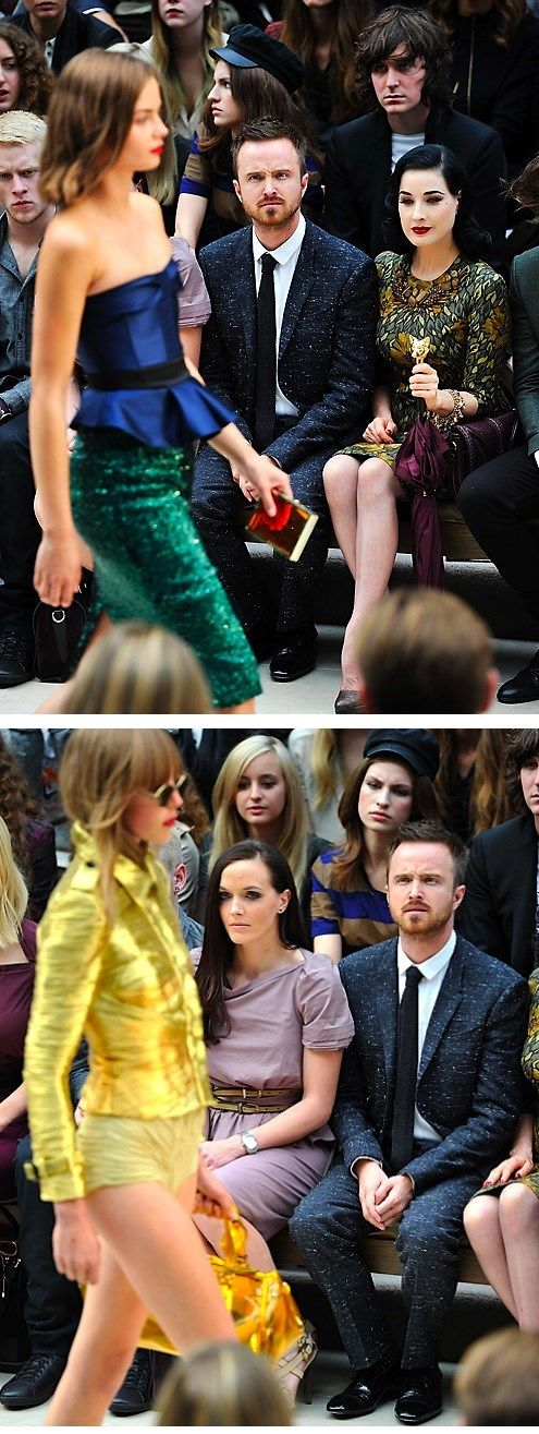 Aaron Paul confused about Fashion = WIN