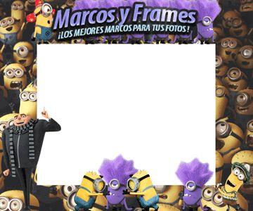 Marcos Minions Gru 2 Mi Villano Favorito | Marcos y Frames para tus fotosMarcos y Frames para tus fotos