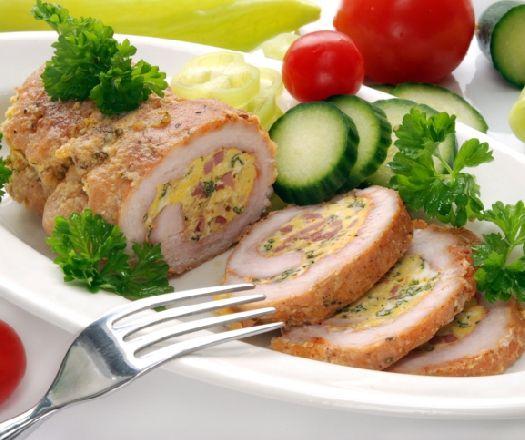 Sonkás-tojásos pulykatekercs Recept képpel - Mindmegette.hu - Receptek