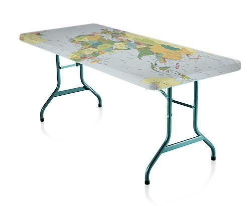 Folding table decorate