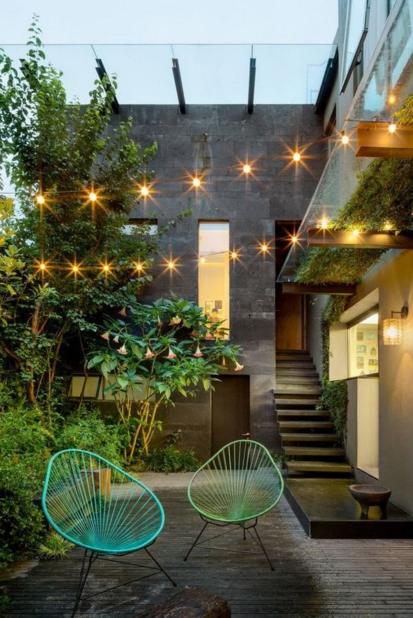 M s de 25 ideas incre bles sobre patios peque os en for Patios decorados