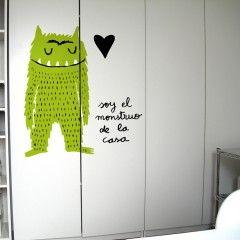 Monstruo de la casa http://www.chispum.com/vinilo-monstruo-de-la-casa
