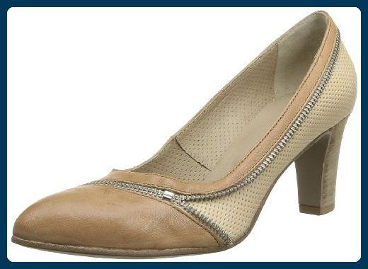 Sandpiper Filton - Zapatos de cordones de piel para mujer negro negro, color negro, talla 37 1/3