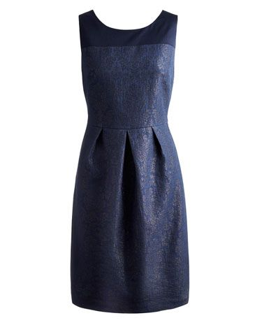 Joules null Womens Party Dress, French Navy.                     Perfect for every special occasion and seasonal soiree, this dress won't let you down if you're looking to up the style stakes. In our new-for-the-season pattern.