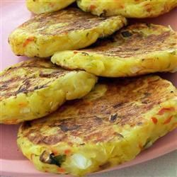 Bubble and Squeak Cakes @ allrecipes.co.uk for leftover potatoes