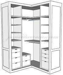 Las 25 mejores ideas sobre armario esquinero en pinterest armario de rinc n armarios - Armarios empotrados esquineros ...