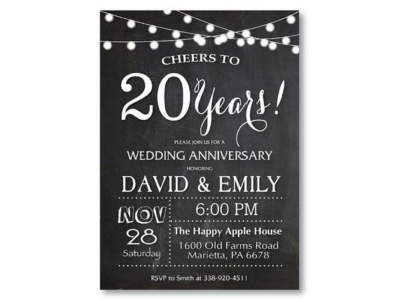 Best AnniversaryInvitations Images On   Birthday