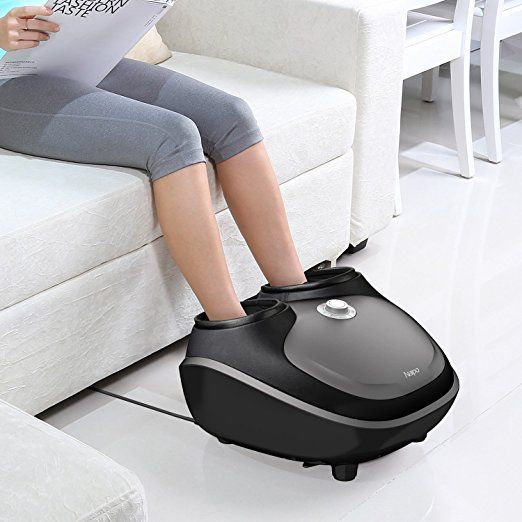 Amazon.com: Naipo Foot Massager with Tapping, Shiatsu Kneading, Air Compression and Heating for Foot Massage - 2 Years Warranty: Health & Personal Care