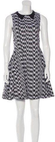 Kenzo Patterned A-Line Dress