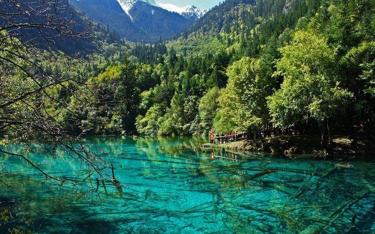 Beautiful Lake Jiuzhaigou CHINA