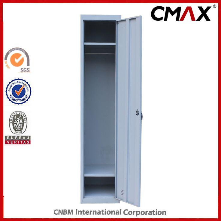 Hot Item Steel Single Door Locker Labor School Use Changing Room Metal Cabinet Cmax Sl01 001 In 2020 Steel Cupboard Steel Locker Metal Lockers