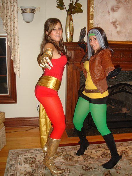 rogue x-men costume ideas | ... motivated, I'm posting my favorite from last year: Rogue from X-Men
