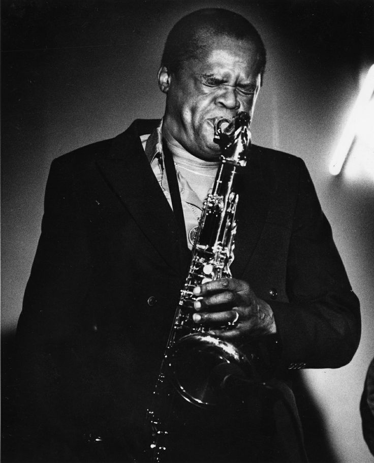 Stanley Turrentine, February 1985. (John Heller/Pittsburgh Press)