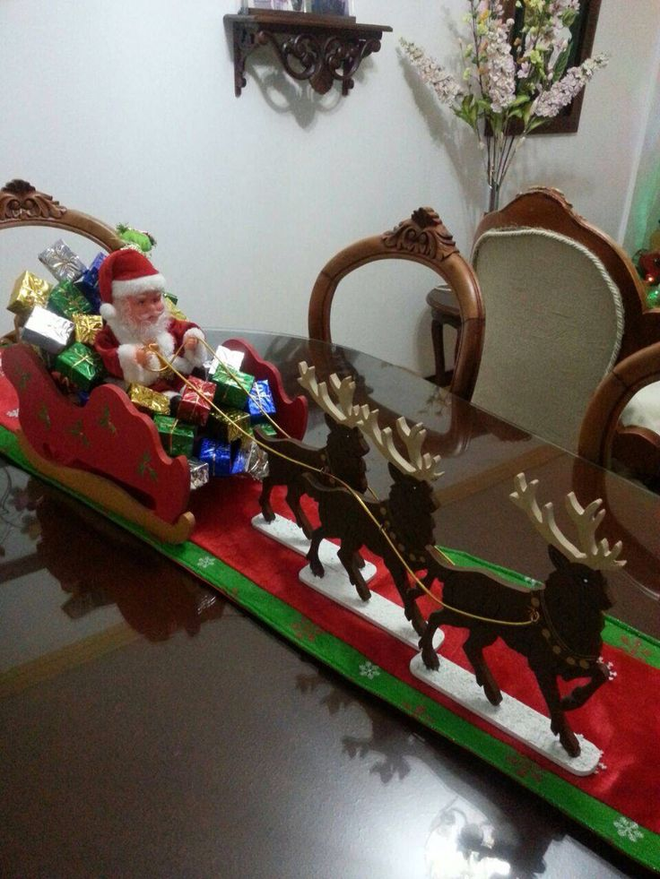 Trineo navidad navidad pinterest navidad for Trineo madera decoracion
