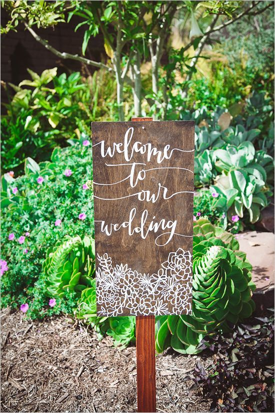 Top 20 Unique Welcome Wedding Sign Ideas