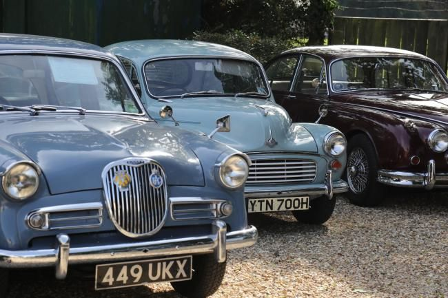 PICTURES: Vintage cars and miniature steam engines at Wimborne Model Town (From Bournemouth Echo)