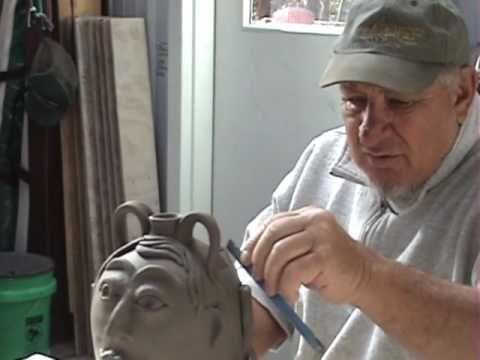 history of GA face jugs