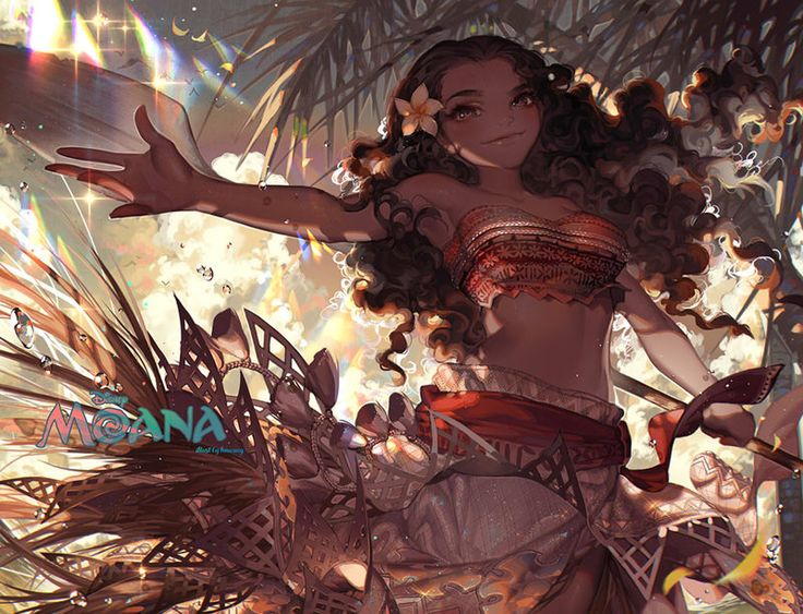 Moana Waialiki from upcoming 2016 Disney movie: Moana. been waiting for this movie since January oh god i thought it was just a hoax