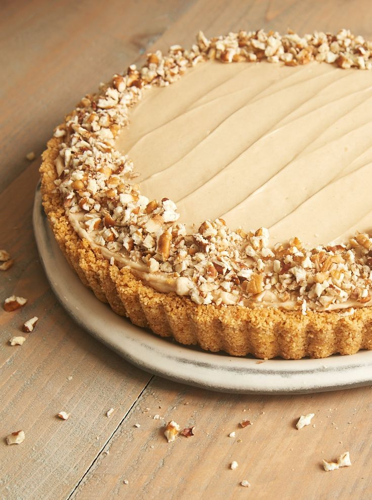 Brown Sugar Banana No-Bake Cheesecake ~ http://www.bakeorbreak.com