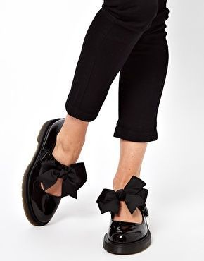 Tendance Chaussures   Dr Martens | Dr Martens Mariel Bow Mary Jane Shoes at ASOS