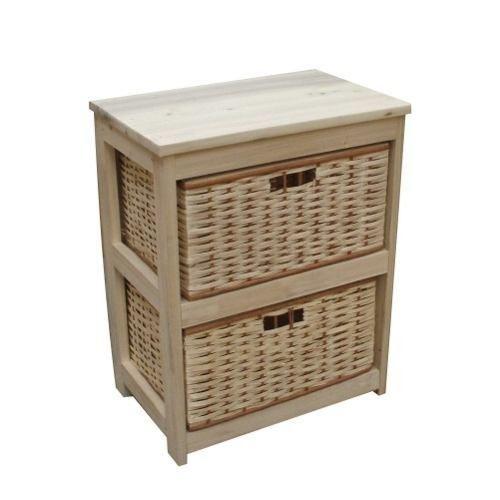 Muebles con canastos de mimbre a precios increibles for Muebles de mimbre