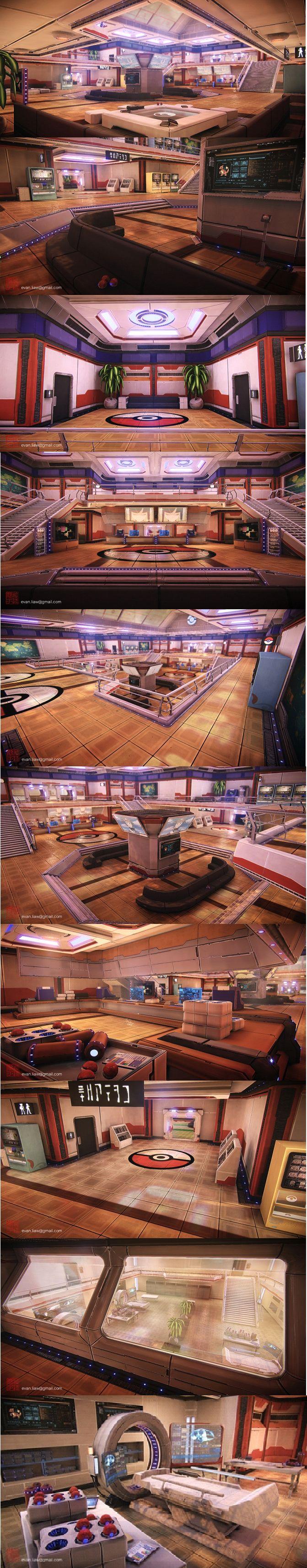 3d modeling center pokemon