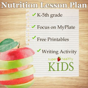 Nutrition Lesson Plan Elementary Download - 00211 - Super Healthy Kids - Healthy…