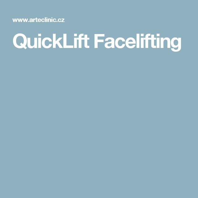 QuickLift Facelifting