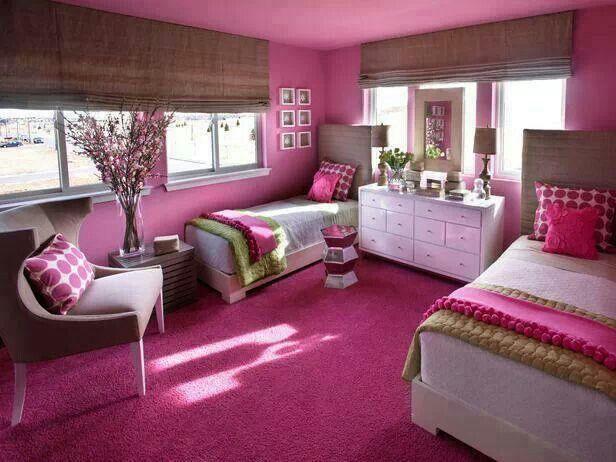 Cute shared Girls room