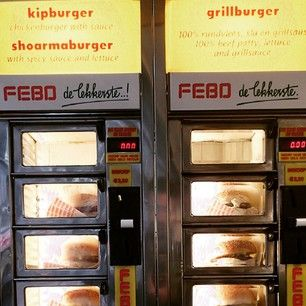 A kroket from a FEBO wall. | 22 Things Everyone Needs To Eat In Amsterdam