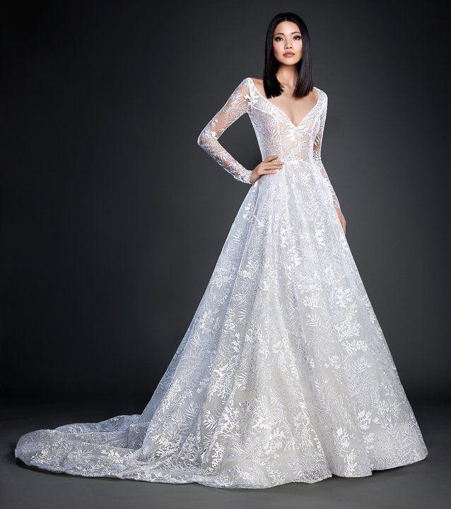 24 best Lazaro Bridal images on Pinterest | Short wedding gowns ...