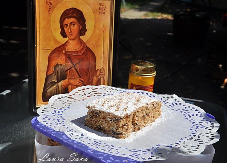 Fanouropita, prajitura Sfantului Fanurie
