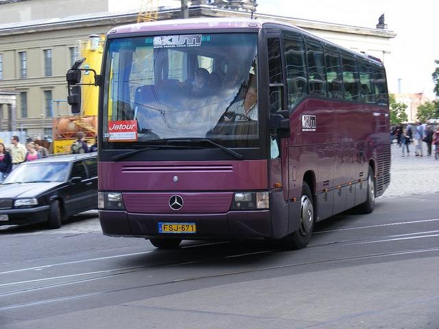 FSJ-671 Mercedes Benz O404 ,Kuti Travel Coach Company, Hungary Berlin Aug 2010
