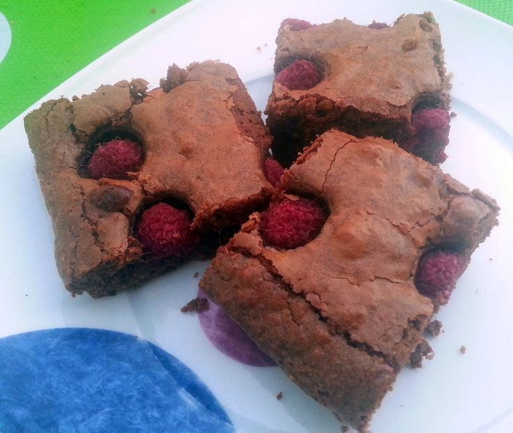 CREAMY CRAB: Brownies ai Lamponi