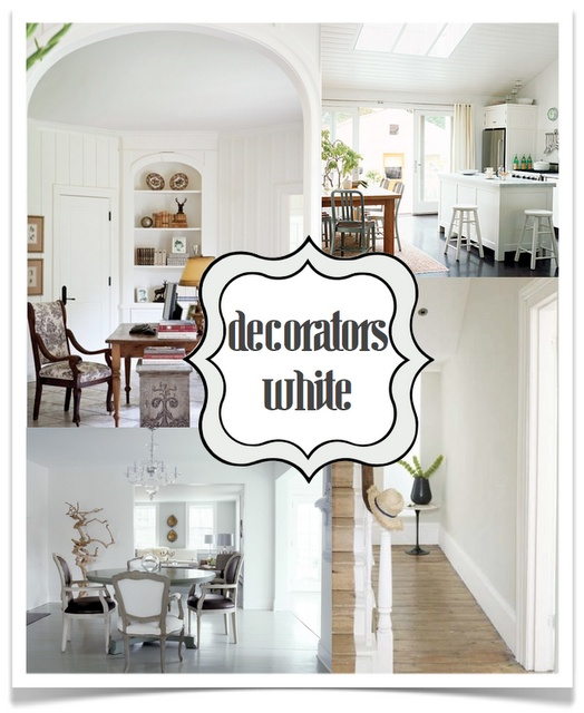 Benjamin Moore Decorators White All Trim And Doors