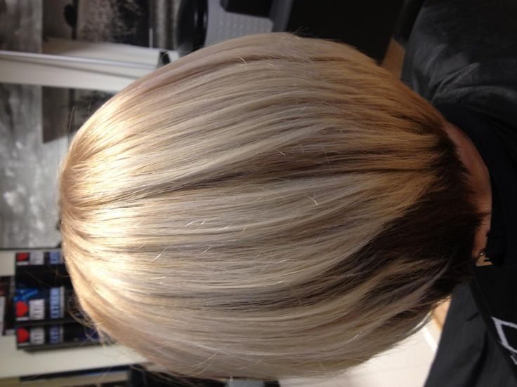 Wella Illumina 9/60 used as a toner!