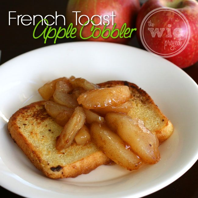opticians French Toast Apple Cobbler LuckyLeafLuckyMe  Recipe