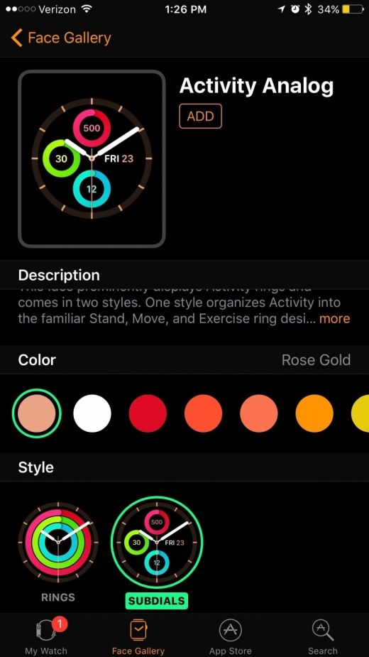 Apple Watch with watchOS 3 and iPhone with iOS 10 allow you to customize your Apple Watch face to your liking from the Watch app on iPhone. This is helpful because changing your watch face on Apple Watch can be tedious with the small screen. But from the Watch app on iPhone, it's easy to go through all of your options and select the complications and colors you want to use. Here's how to customize an Apple Watch face from your iPhone.